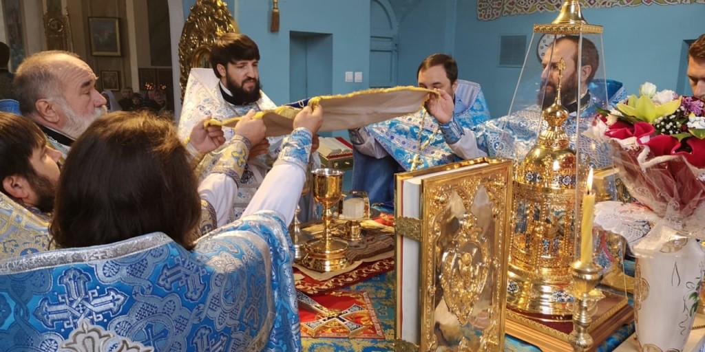 Престольный праздник отметили в Сретенском храме г. Ростова-на-Дону