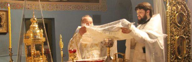 Рождественское богослужение в Сретенском храме