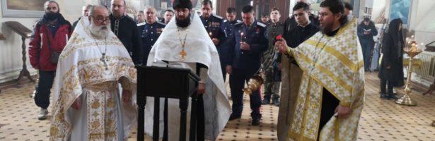 В Сретенском храме почтили память жертв геноцида казачества