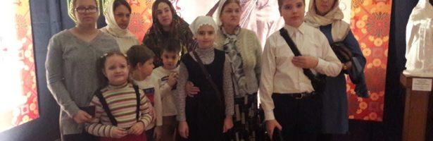 Учащиеся Воскресной школы посетили выставку-ярмарку «Дон Православный»