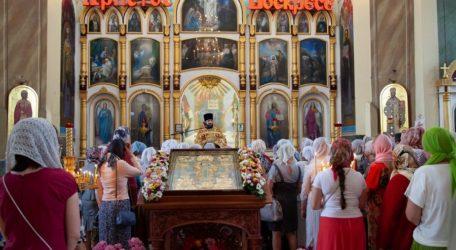 Престольный праздник отметили в Сретенском храме