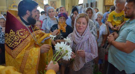 День семьи, любви и верности в Сретенском храме